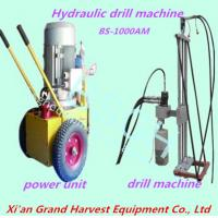 Quality Wide application hydraulic drill for concrete drilling BS-1000AM for sale
