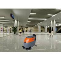 Quality Side Open Tank Industrial Walk Behind Floor Scrubber Machine Low Noise Design for sale