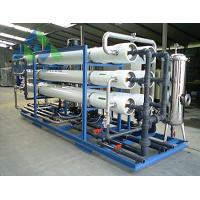 Quality UV / Ozone Sterilization RO Water Treatment Plant For Tap Water Leakage Proof for sale