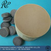 China ceramic honeycomb catalysts carrier on sale