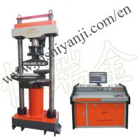 China 1000kN Computer Control Electro-hydraulic Servo Compression & Flexure Testing Machine on sale