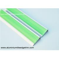 Buy cheap Photoluminescent / Fluorescent Aluminum Stair Nosing Glow In The Dark from wholesalers