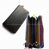 Quality Long Leather Wallet for sale