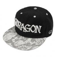 Quality Fashion flat along the snakeskin baseball caps hip-hop caps Sports caps BC-048 for sale