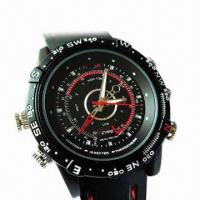Quality Waterproof Hidden Watch Camera with 4GB Internal Memory for sale