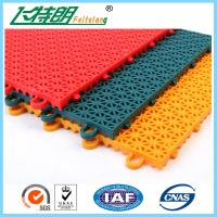 Quality PP Installation Rubber Interlocking Floor Mats For Tennis / Basketball Court for sale