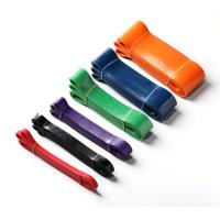 China Pull Up Assist Loop Resistance Bands Latex Material For Strength Training on sale