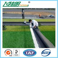 Quality Long Curly Synthetic Artificial Lawn Grass Affordable Terrace Gardening 130Stitches / Meter for sale