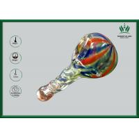 Buy cheap Round Bowl Glass Hand Pipe , Borosilicate Glass Hand Smoking Pipes GP-137 from wholesalers