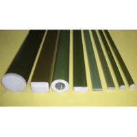 Quality Polishing Pultruded Fiberglass Rod , Polymer Insulator Epoxy Resin FRP Rod for sale