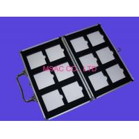Quality Size Customized Stone Sample Box MS-S-13 Aluminum Display Case Fireproof For Display for sale