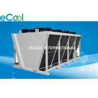Buy cheap Cold Storage Refrigeration Plant Air Cooled Condenser V Shape High Efficiency from wholesalers