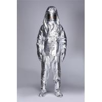 Quality Fire Retardant Heat Insulation Light Fire Entry Suits / Fire fighting Suit Aluminized for sale