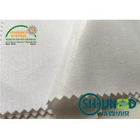 Quality Cotton Top Fuse Woven Fusing , Various Handfeeling Woven interfacing by 44 Width for sale