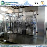 Buy cheap Siemens PLC System Enhanced Rotary Washing Filling Capping Machine for Pure And Mineral Water Production. product