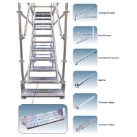 Quality Customized Galvanized Steel Scaffolding Powder - Coated For Walking Stair for sale