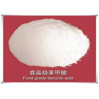 Food Grade Benzoic Acid Flakes Paint Coatings Chain Terminator 99.5% Purity