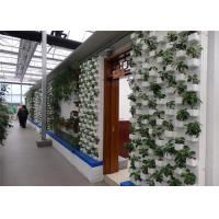 Quality Good Light Transmission Sustainable Greenhouse PVC Pipe Hydroponic Frame Material for sale