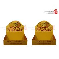 Quality Ecofriendly Paper Cardboard Display Boxes With CMYK Colors Printing for sale