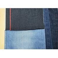 Buy cheap 11oz 70*42 Selvedge Denim Upholstery Fabric Red Denim Material For Sale W95113A from wholesalers
