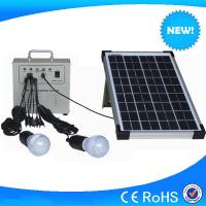 China 10w mini solar home lighting system / solar lighting kits for hot sale on sale