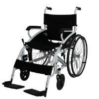 Quality big wheel manual wheel chair for disabled people SLY117 for sale
