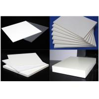 Advertising Durable 19mm PVC Sheet , Celuka Extrusion Recycled PVC Sheet