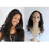 Quality Pure Long Lasting  Brazilian Full Lace Human Hair Wigs Wet And Wavy for sale