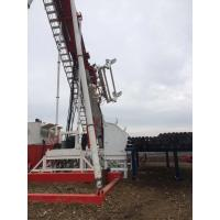 Buy Multi-Functional Oilfield Workover Rig 2*243kw with pipe feeding system mounted on the front part of the mast at wholesale prices