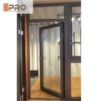 Quality Customized Design Aluminium Hinged Doors For Construction Buildings for sale