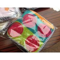 Buy Lovely Baby Saliva Towel Kids Waterproof Lunch Bibs Unisex Infant Cartoon Bibs Square Napk at wholesale prices