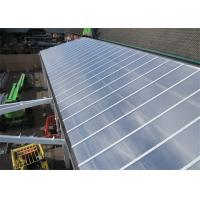 Quality 2.1m Max Width Twin Wall Polycarbonate Sheet Transparent With Bendability for sale