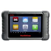 Buy cheap Latest AUTEL MaxiDAS DS808 KIT Tablet Diagnostic Tool Full Set Support Injector and Key Coding Update Online product