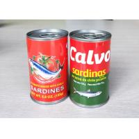 Buy cheap Canned Food Canned Fish Canned Sardine / Tuna / Mackerel in Tomato Sauce / Oil / Brine 155G 425G from wholesalers