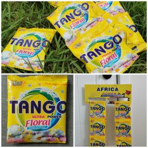 Quality Tango 200gram africa detergent  powder washing powder for sale