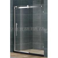 Quality Frameless SlidingGlassShower Doors Nano Tempered Clear /  Frosted CE Certification for sale