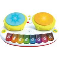 Quality Funny Double Shot Drum with Piano toys for sale
