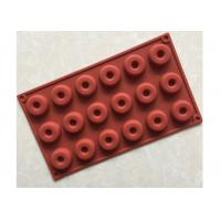 Quality Food Safety, Easy Clean , multi-cavities , DIY Silicone Donut Mold for sale
