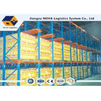 Single Entry Selective Pallet Racking With Single / Double Stacked Pallets