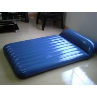 China High Strength Comfortable Air Modern Inflatable Air Mattress Sofa Bed Furniture Blue on sale