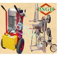 Buy cheap High efficiency concrete cutting machine BS-70AM hydraulic wire saw from wholesalers