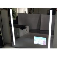 Rectangle Bathroom Mirror LED TV Wall Mounted 1920 X 1080 Resolution