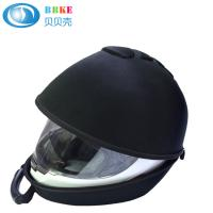Quality Custom black Eva travel portable case for motorbike bicycle helmet 360*300*260 CM for sale