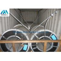 JIS G3302 ASTM A653 Prime Hot Dipped Galvanized Steel Coils Regular Spangle