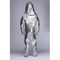 Quality Anti Static Aluminized Fire Proximity Suit Heat Resistance Coveralls / Workwear for sale
