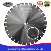 Quality Fast Asphalt Cutting Blades 105 - 600mm Laser Welded Diamond Saw Blade for sale
