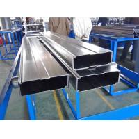 Quality Galvanized Steel Box Beam Rack Roll Forming Machine 8-10m / Min With 15 Stations for sale