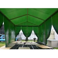 Fire Retardant A Frame Tent With Fabric Zip Door for Business Show