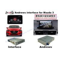 Buy Android 6.0 GPS Navigation Multimedia Video Interface for Mazda 3 support DVD/TV/Rear Camera at wholesale prices