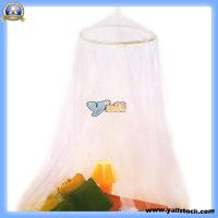 Quality White Elegant Netting Bed Canopy Mosquito Net -J6047 for sale